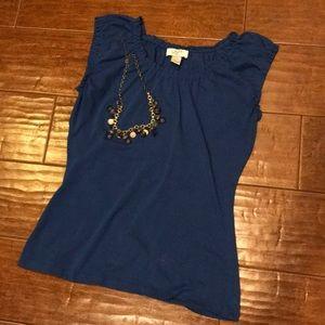 Beautiful blueLoft petite sleeveless